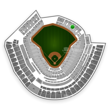 Cincinnati Reds at Great American Ball Park Section 142 View