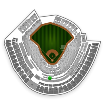 MLB at Great American Ball Park Section 222 View