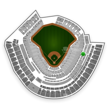 MLB at Great American Ball Park Section 307 View