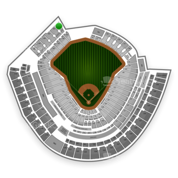 MLB at Great American Ball Park Section 401 View