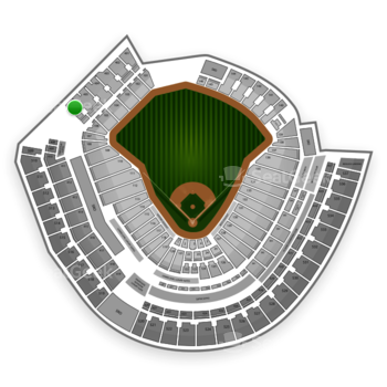 MLB at Great American Ball Park Section 406 View