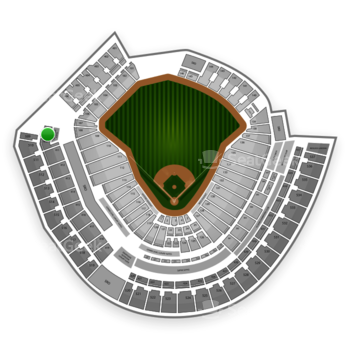 MLB at Great American Ball Park Section 409 View