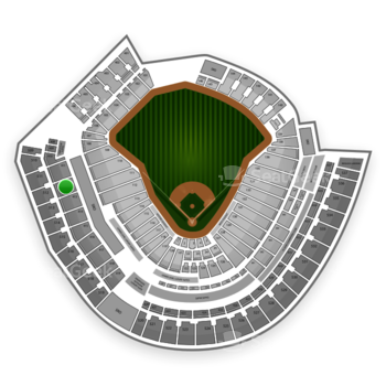 MLB at Great American Ball Park Section 412 View