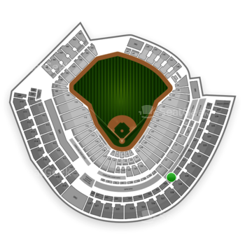 MLB at Great American Ball Park Section 429 View