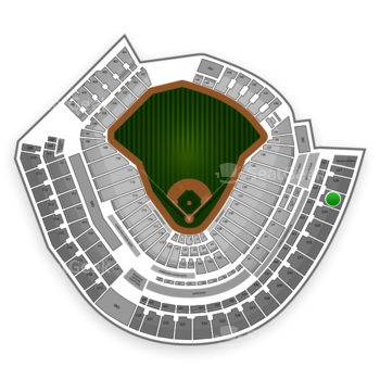 MLB at Great American Ball Park Section 535 View