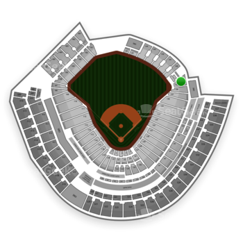 Cincinnati Reds at Great American Ball Park Section 139 View