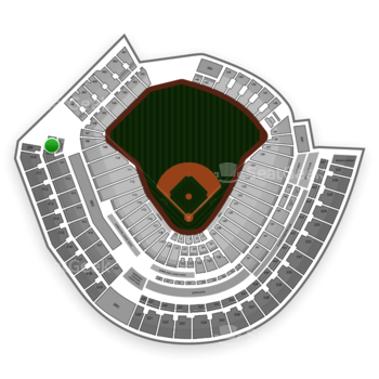 Cincinnati Reds at Great American Ball Park Section 409 View