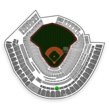 Cincinnati Reds at Great American Ball Park Section 424 View