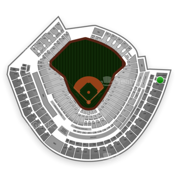 Cincinnati Reds at Great American Ball Park Section 537 View