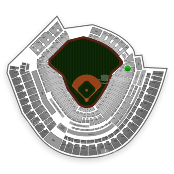 MLB at Great American Ball Park Section 137 View