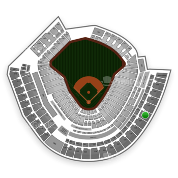 MLB at Great American Ball Park Section 532 View