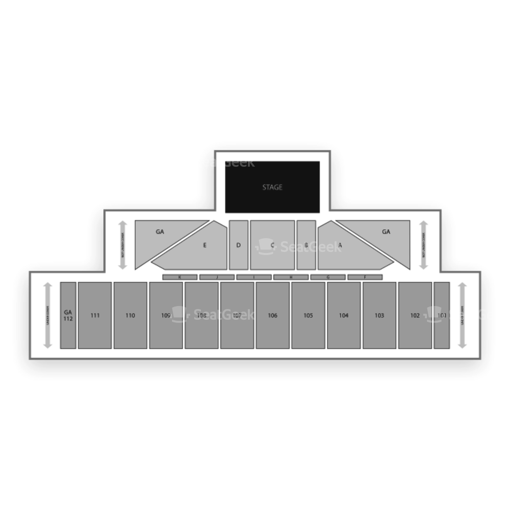 Allentown Fairgrounds Seating Chart Concert