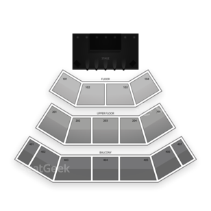 Harrah's Cherokee Resort Event Center Seating Chart Dance Performance Tour