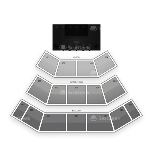 Harrah's Cherokee Resort Event Center Seating Chart