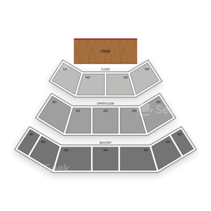 Harrah's Cherokee Resort Event Center Seating Chart Theater