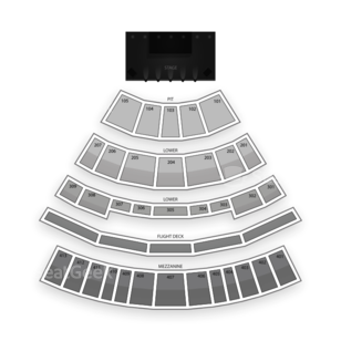 Verizon Theatre at Grand Prairie Seating Chart Theater