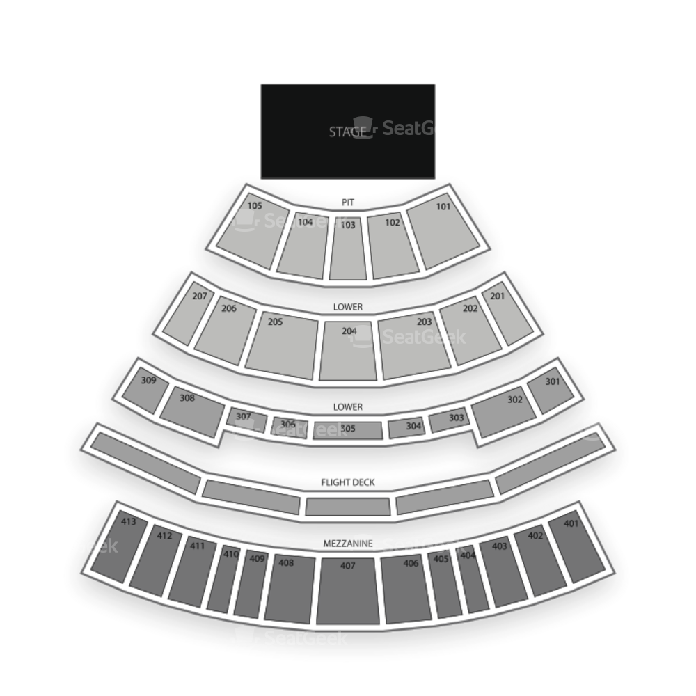 Verizon Theatre at Grand Prairie Seating Chart Parking