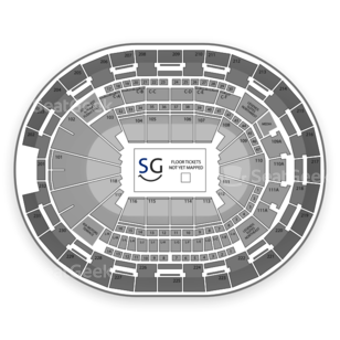 Amway Center Seating Chart Family