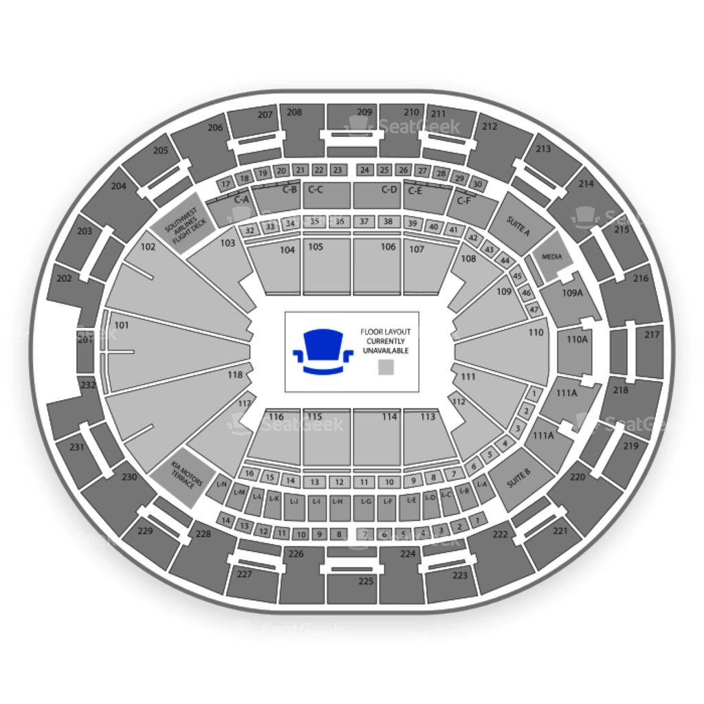 amway center seating chart: Amway center seating chart interactive seat map seatgeek