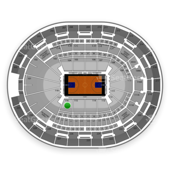 NBA at Amway Center Section 116 View