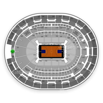 NBA at Amway Center Section 201 View