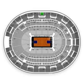 NBA at Amway Center Section 209 View