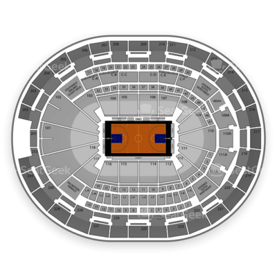 Amway Center seating chart Orlando Magic