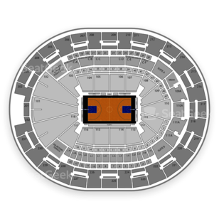 Amway Center Seating Chart Basketball