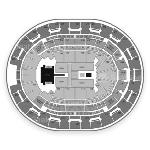 Amway Center Seating Chart Concert