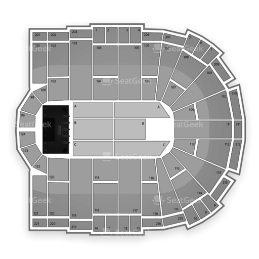 Laredo Energy Arena Seating Chart