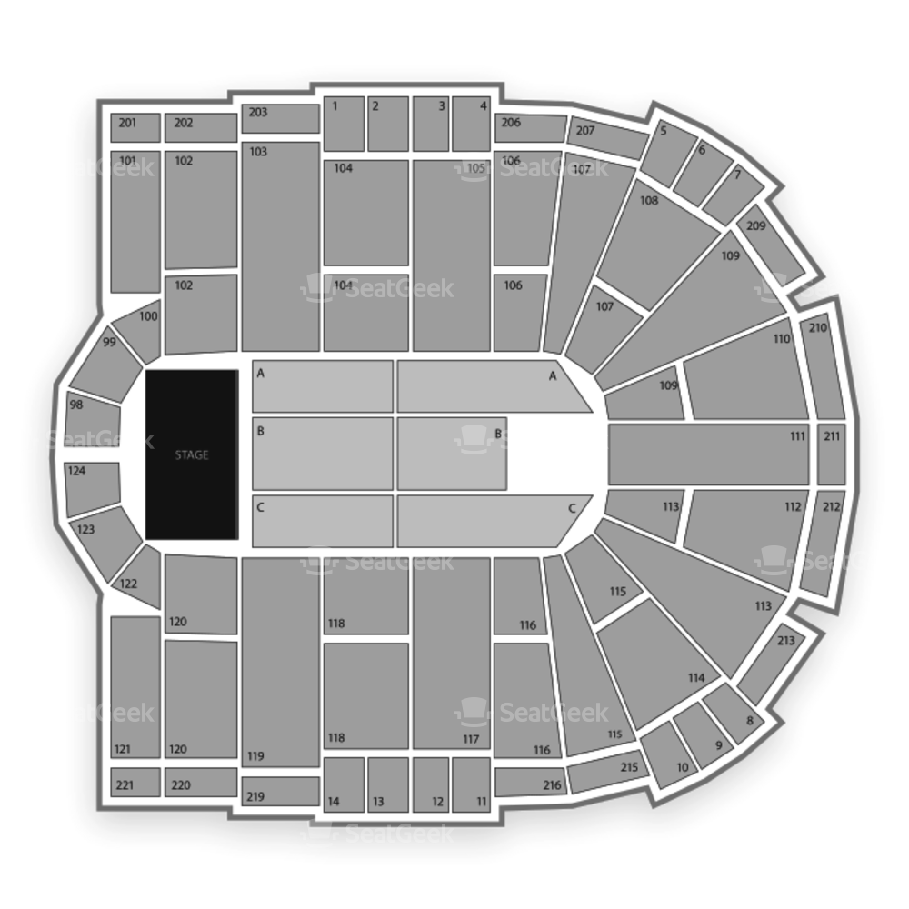 Laredo Energy Arena Seating Chart Concert
