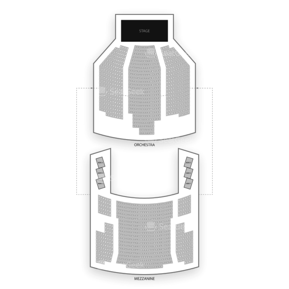 Neil Simon Theatre Seating Chart Concert