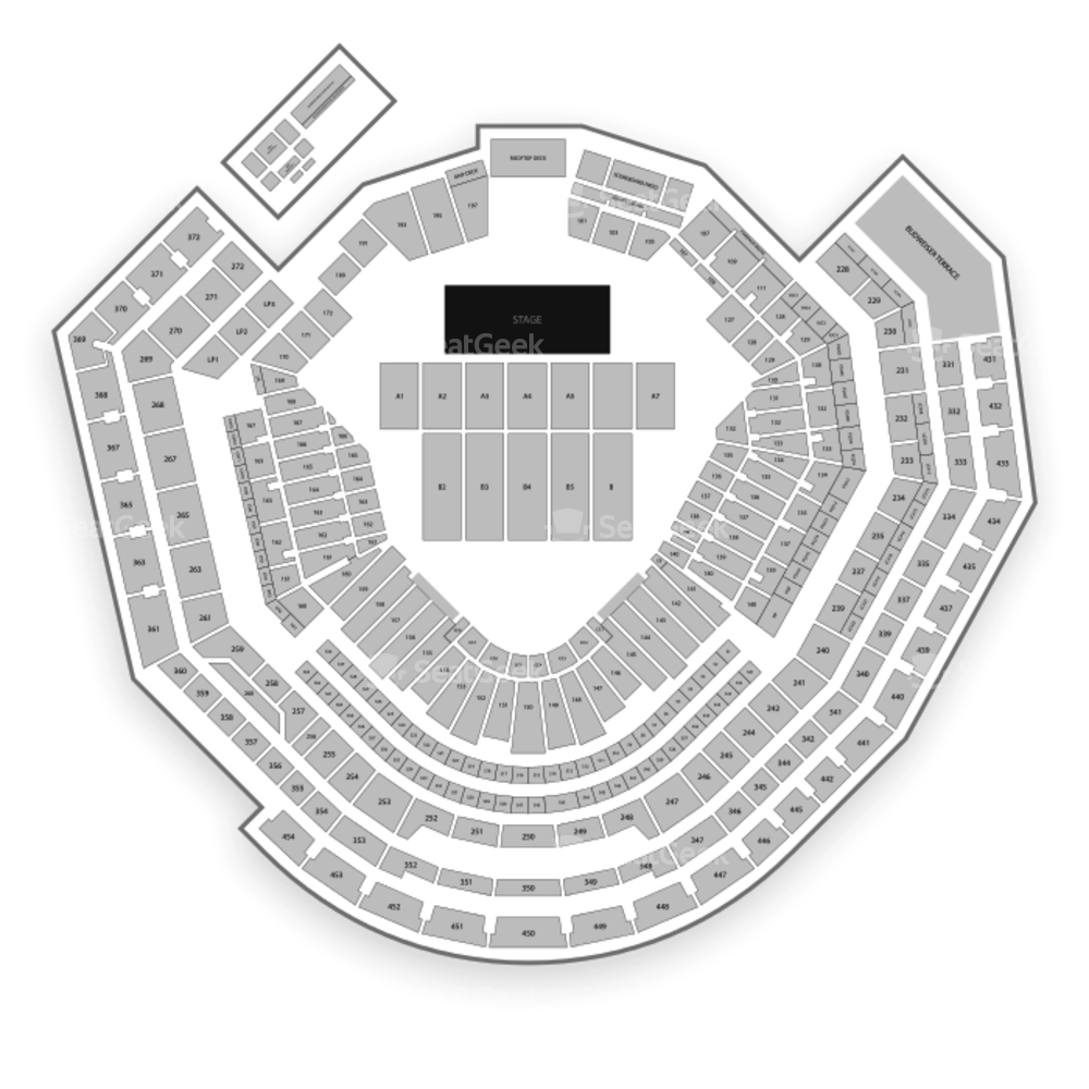 Busch Stadium Seating Chart Concert