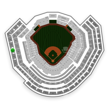 St. Louis Cardinals at Busch Stadium Section 365 View