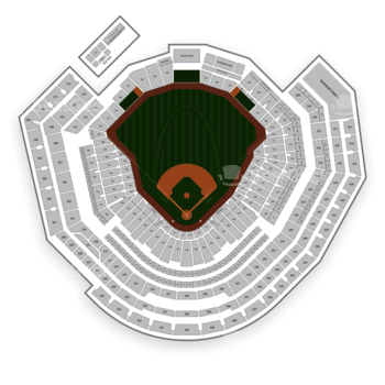 St Louis Cardinals At Busch Stadium Section 271 View All Seating Charts
