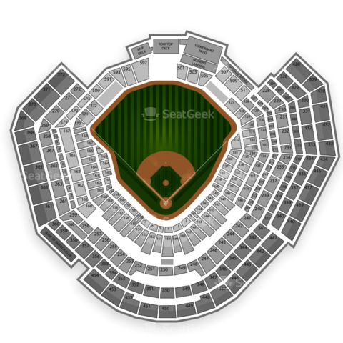Busch Stadium seating chart St. Louis Cardinals