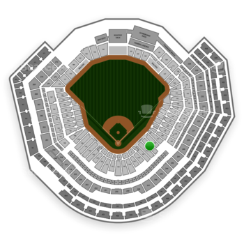 MLB at Busch Stadium Section 143 View
