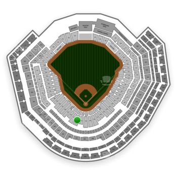 MLB at Busch Stadium Section 152 View