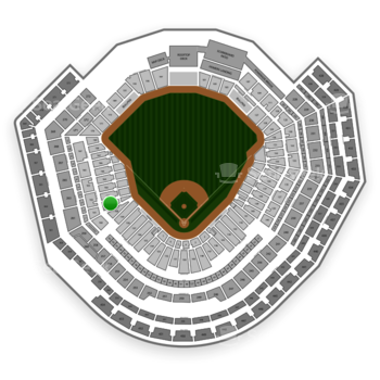 MLB at Busch Stadium Section 161 View