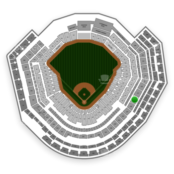 MLB at Busch Stadium Section 239 View