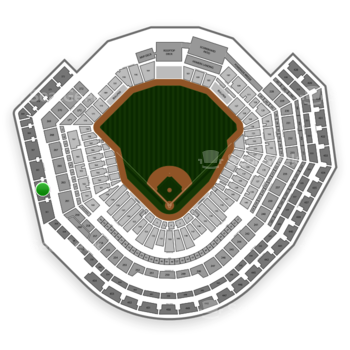 MLB at Busch Stadium Section 363 View