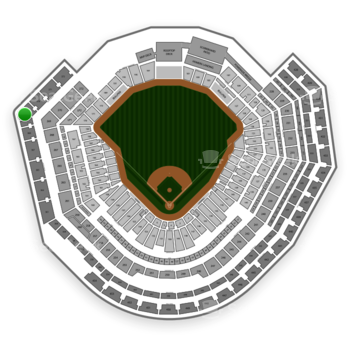 MLB at Busch Stadium Section 369 View