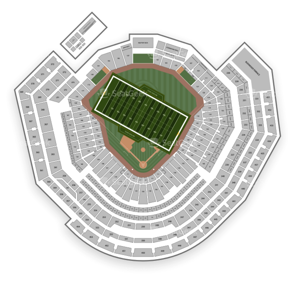 Busch Stadium Seating Chart NFL