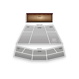 Lied Center for Performing Arts Seating Chart Dance Performance Tour