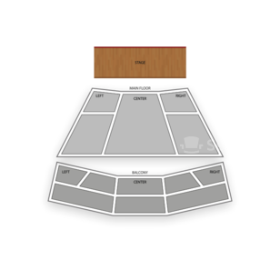Lied Center for Performing Arts Seating Chart Theater