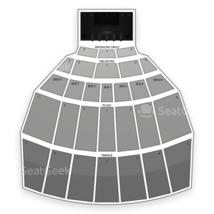 Starlight Theatre Seating Chart Cirque Du Soleil