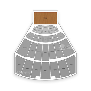 Starlight Theatre Seating Chart Comedy