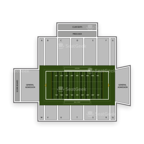 Ball State Cardinals Football Seating Chart