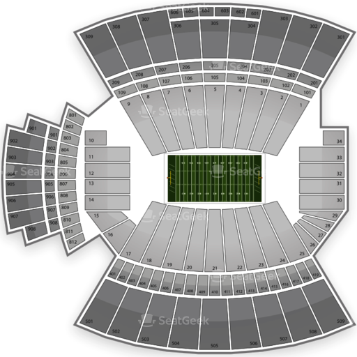 Williams-Brice Stadium Seating Chart