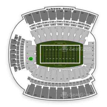 WilliamsBrice Stadium Section 13 Seat Views  SeatGeek